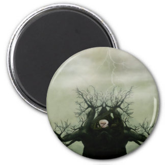 Cradle of Life 2 Inch Round Magnet