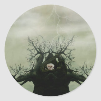 Cradle of Life Round Sticker