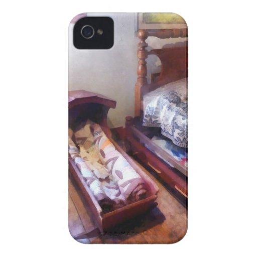 Cradle With Quilt Case-Mate iPhone 4 Case