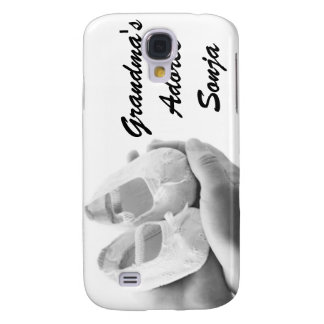 Cradled Baby Shoes Samsung Galaxy S4 Cover
