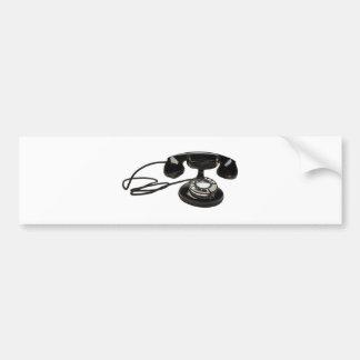 cradlephone bumper sticker
