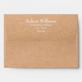 Craft 7 x 5  Mailing Envelopes with Return Address