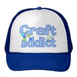 Craft Addict Beads Design Gift Hat