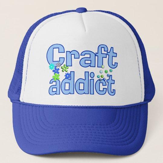 Craft Addict Beads Design Gift Trucker Hat