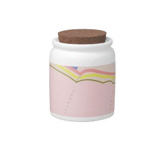 Craft Apron Candy Jar