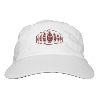 Craft Beer Brewer Cans- Maroon and White Headsweats Hat