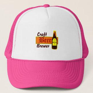 Craft Beer Brewer,Orange & Yellow Trucker Hat