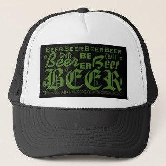 Craft Beer, Green Trucker Hat