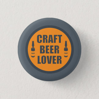 Craft Beer Lover 2 Pinback Button