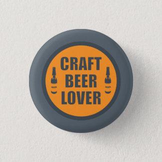 Craft Beer Lover 2 Pinback Button