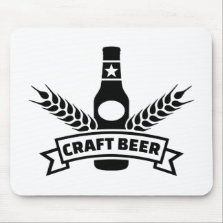 Craft beer mouse pad