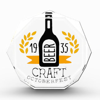 Craft Beer Oktoberfest Logo Design Template Award