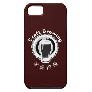Craft Brewing, Black & White 2 iPhone SE/5/5s Case