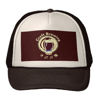 Craft Brewing, Lite Yellow Trucker Hat
