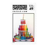 """Craft Cake""  Photography Postage Stamps"