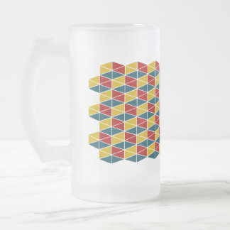 Craft Colorey / Frosted Glass Beer Mug