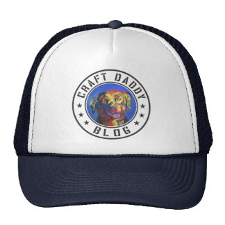 Craft Daddy Blog Logo Trucker Hat