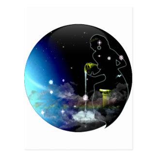 Craft Dungeon Zodiac - Aquarius Postcard