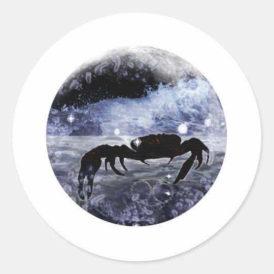 Craft Dungeon Zodiac - Cancer Classic Round Sticker