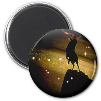 Craft Dungeon Zodiac - Capricorn 2 Inch Round Magnet