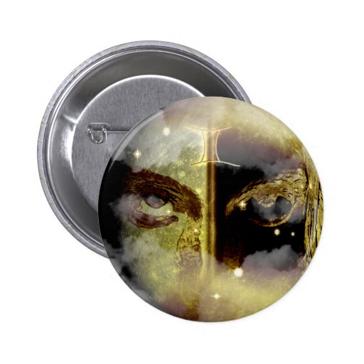 Craft Dungeon Zodiac - Gemini Pinback Buttons
