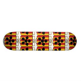 Craft Family Crest Custom Skate Board