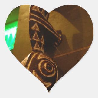 craft heart sticker