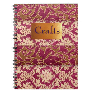 Craft Idea Workbook Notebook