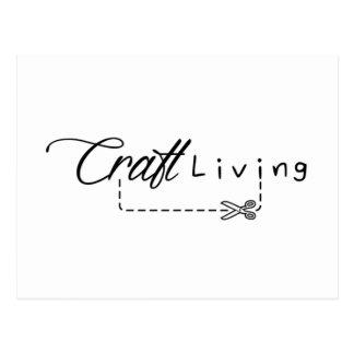Craft Living Logo Postcard