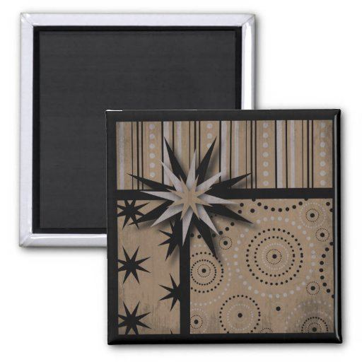 Craft Paper look Magic and Witchcraft Prints Magnet