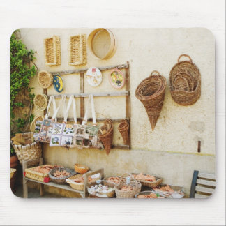 Craft product at a market stall, Siena Province, Mouse Pad