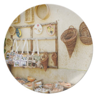 Craft product at a market stall, Siena Province, Plate