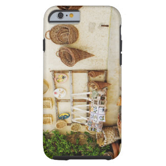 Craft product at a market stall, Siena Province, Tough iPhone 6 Case