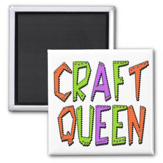 Craft Queen 2 Inch Square Magnet