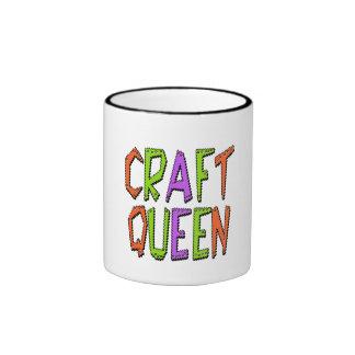 Craft Queen Ringer Coffee Mug