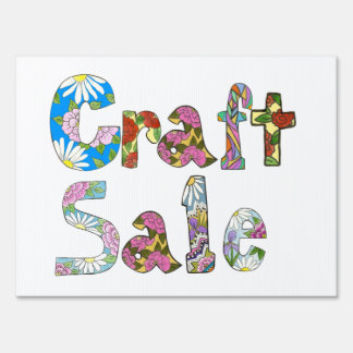 Craft sale sign gifts t shirts art posters other for Crafts to make for sale