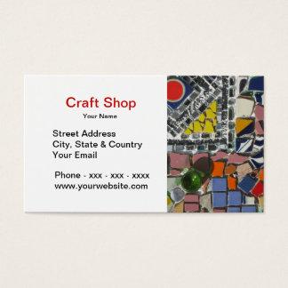 Craft Shop Business Card