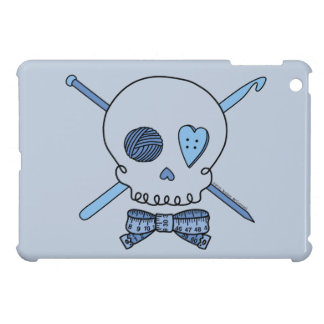 Craft Skull (Blue Background) Case For The iPad Mini