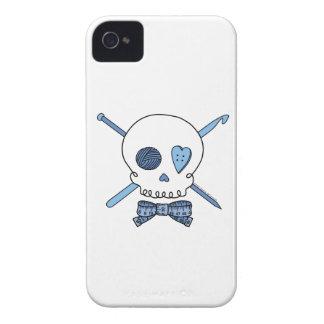 Craft Skull (Blue) Case-Mate iPhone 4 Cases