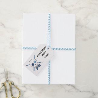 Craft Skull -Knit & Crochet (Bow Tie) Gift Tags