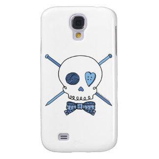 Craft Skull -Knitting Needles & Bow Tie Galaxy S4 Case
