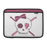 Craft Skull (Pink) MacBook Sleeve