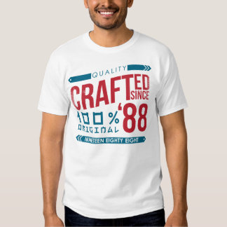 Crafted since 1988 Birthday, Year T-Shirt