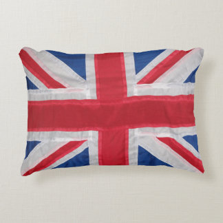 Crafted Union Jack Accent Pillow