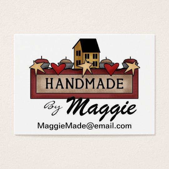 Crafter / Designer / Seamstress Business Card