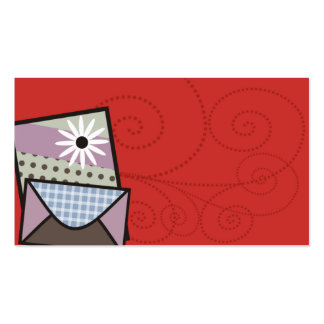 crafter handmade cards business card