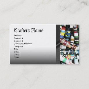 Jewelry making business cards templates zazzle crafter jewelry making paper beads business cards colourmoves