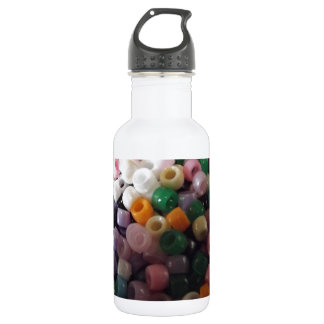 Crafting Beads Photo 18oz Water Bottle