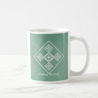 Crafting the Soul Classic White Coffee Mug
