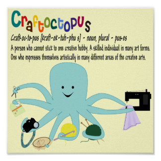 Craftoctopus Print